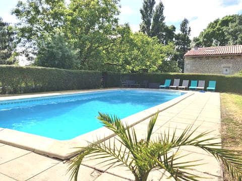 House 120m2 - 8 people with large pool