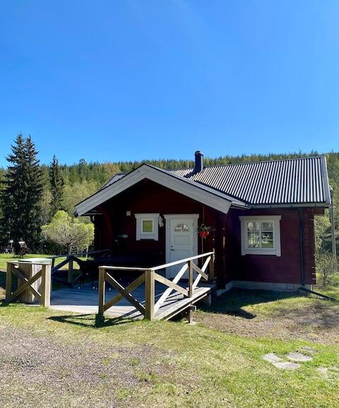 Naturnära stuga i Högstrand, Sälen