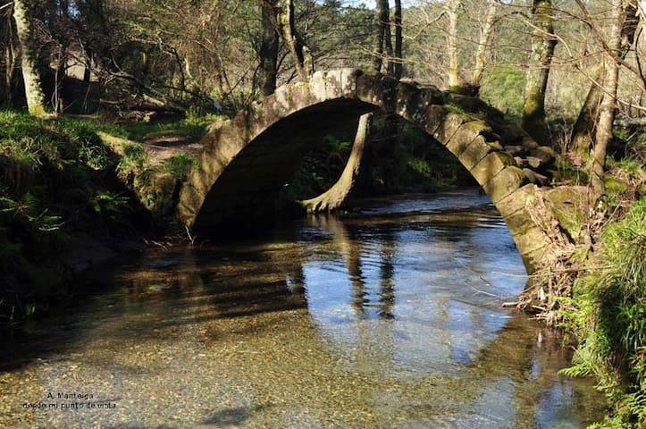 puente medieval,Xuño a 20 min.