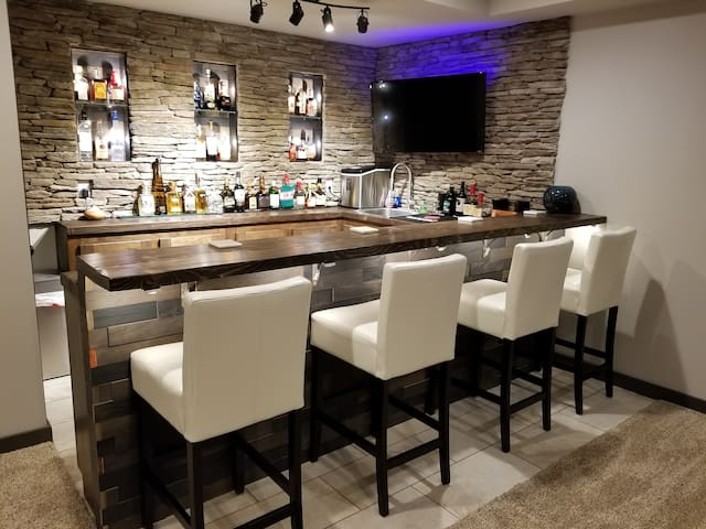 Bar in Living Room
