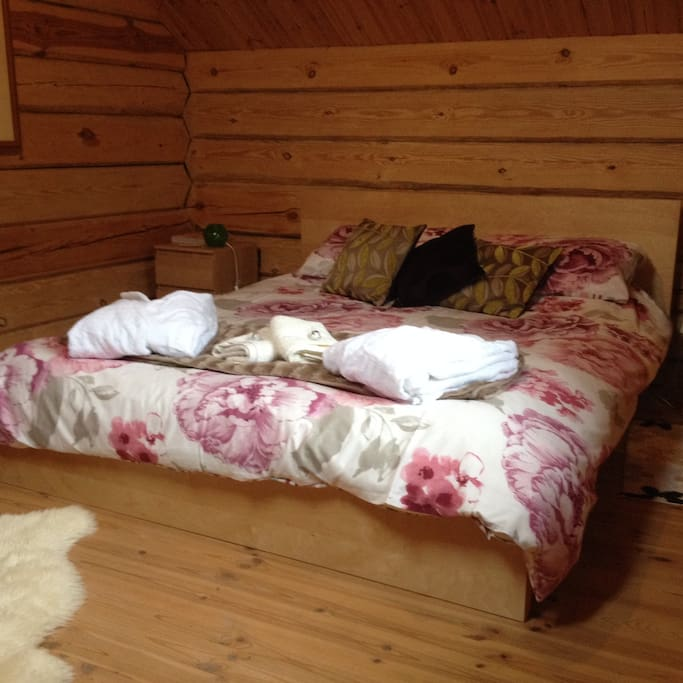 Unique stylish master bedroom