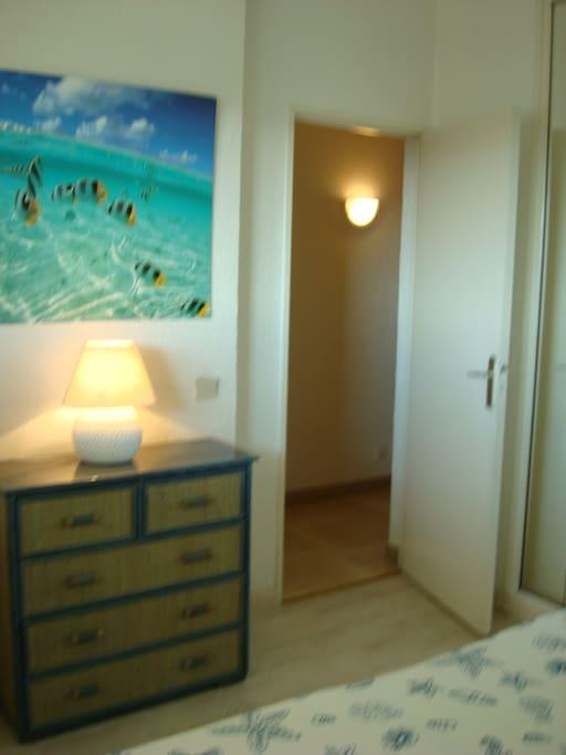 Chambre avec double-lit