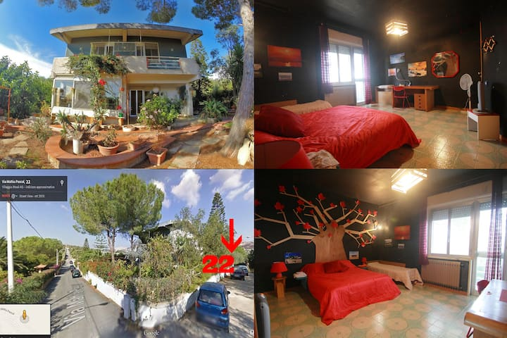 TreeRoom - Temples/kitchen/Wifi/Transports - agrigento - Villa