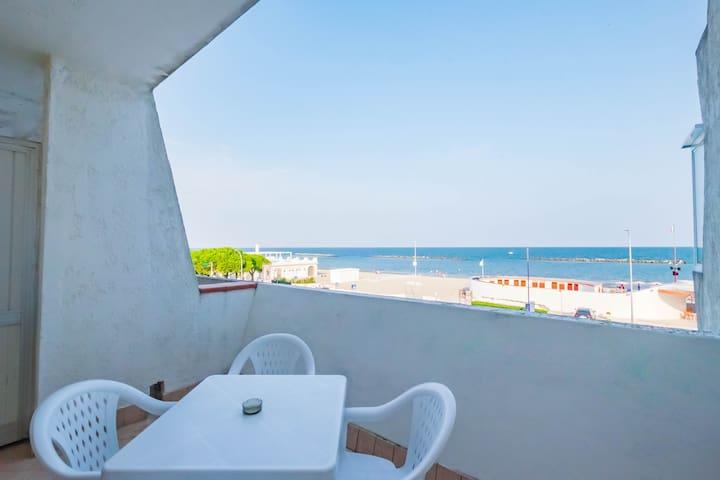Studio apt. with sea sight in Lido delle Nazioni