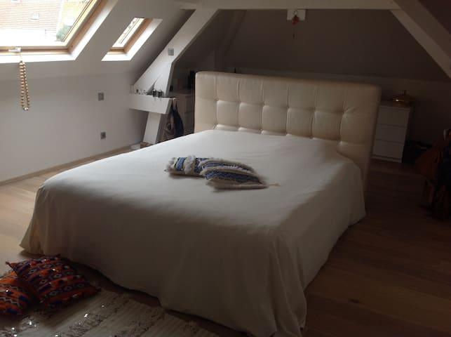 Mooie rustige kamers op 500 M van de Schorre - Boom - บ้าน