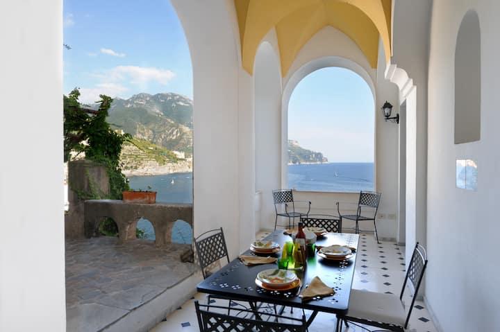 Villa Sophia con accesso privato al mare
