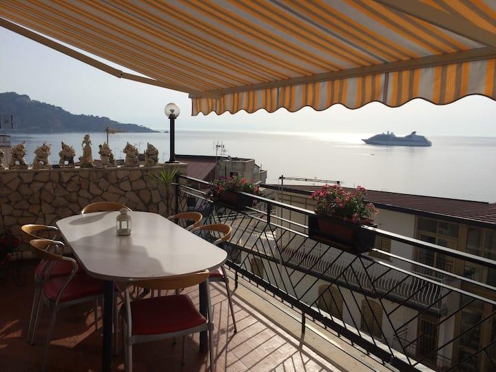 Spectacular views of Taormina