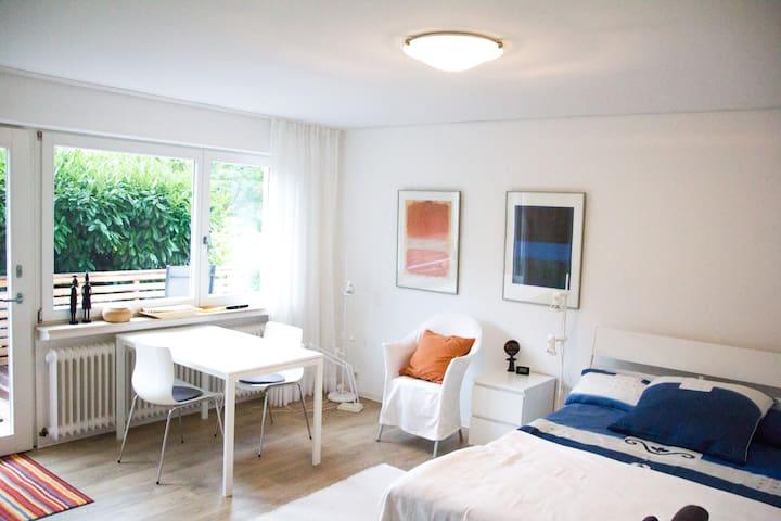 Ruhige Wohnung mit Blick auf die Vogesen