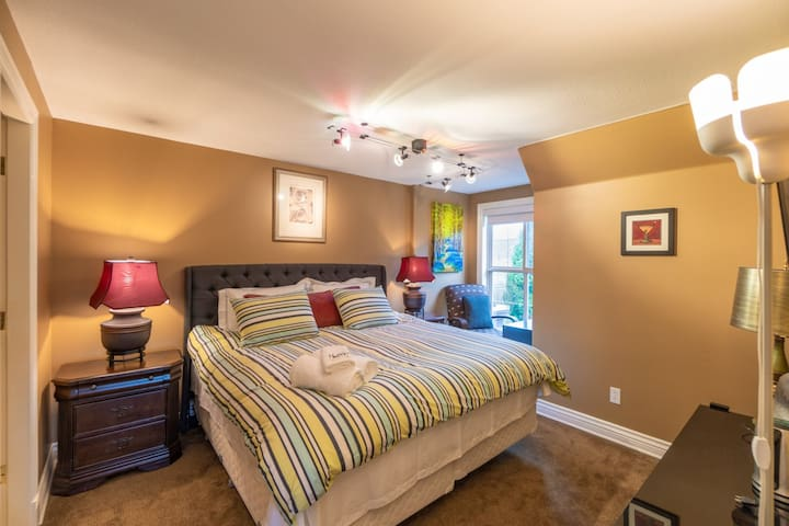 Maple room with a king-size bed