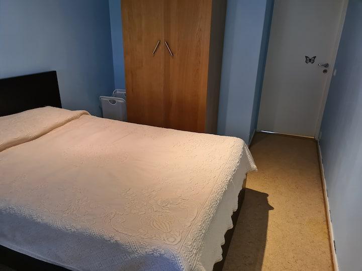 Una habitación super cómoda y limpia
