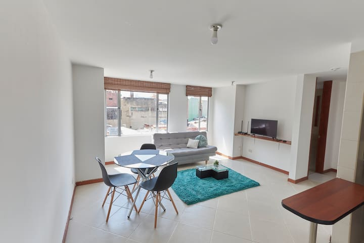 Stylish, spacious apartment in the heart of Bogota