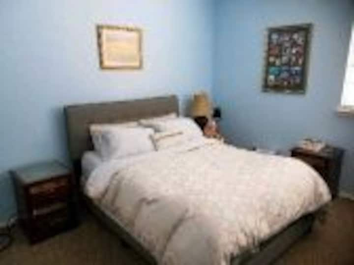 1 room up to 2 guests per room in my house 2 share