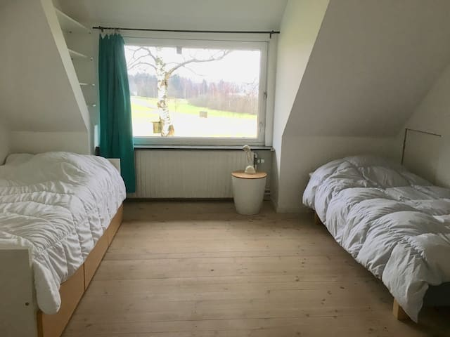 Nice room in the beautiful renovated farm