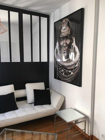 Beau studio proche plage et centre - Le Touquet-Paris-Plage - Appartement