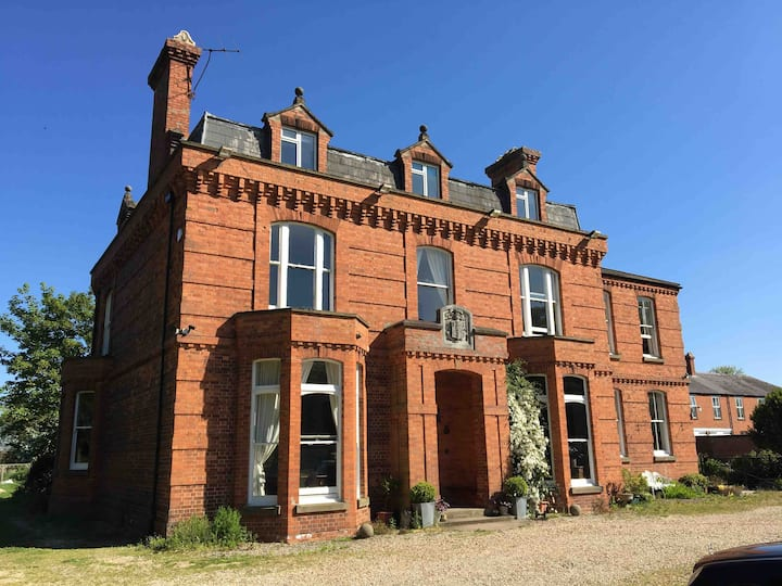 An historic Edwardian Country Manor House