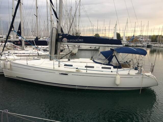 Dufour 385 sail yacht,Godspeed - Nea Skioni