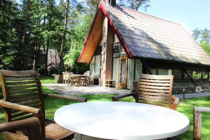 Luxe vakantiewoning 6-8 pers in bosrijke omgeving