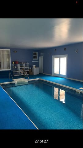 privet big indoor heated swimming pool houses for rent in old orchard beach maine united states - Big Houses With Swimming Pools Inside