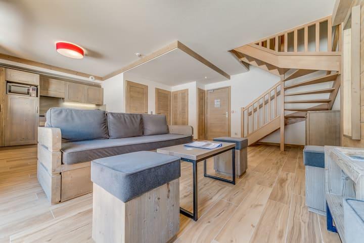 Appartement duplex 6-8p n°402 ski au pied