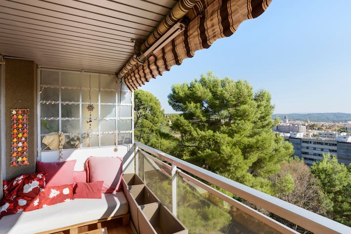 Appartement, Parking spot, Terrace - Aix-en-Provence - Lejlighed