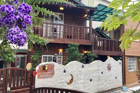 宿の木 (背包客房)  -  一個讓心放鬆放空的小屋 - Xitun District - Blockhütte