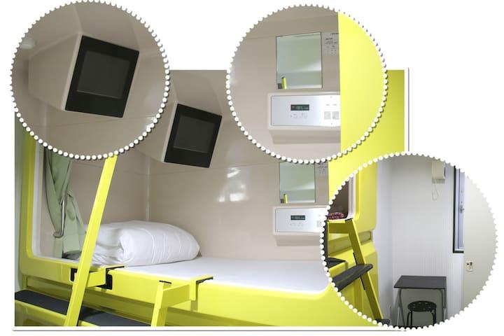 Weekdays CHEAP! Private Capsule Single Room.00