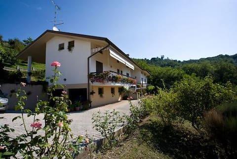 Casa in campagna con vista
