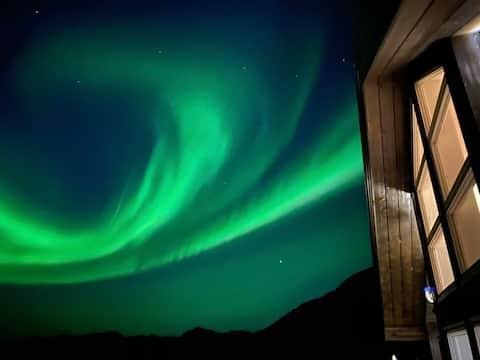 Fantastiske Gimsøy i Lofoten- Hytta Gimsa