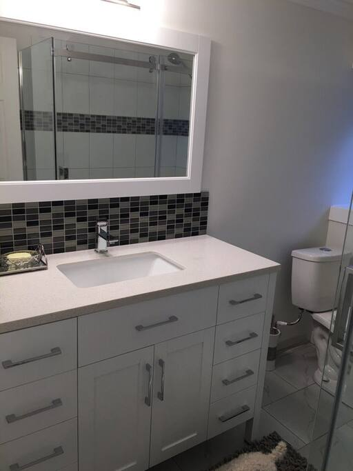 new and clean bathrooms
