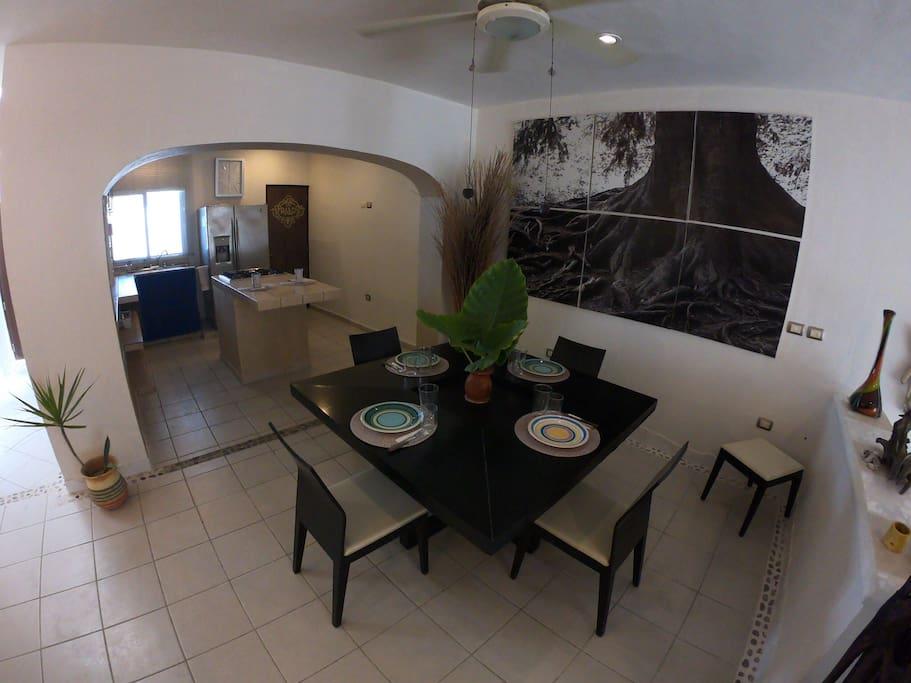 Sala da pranzo - cucina