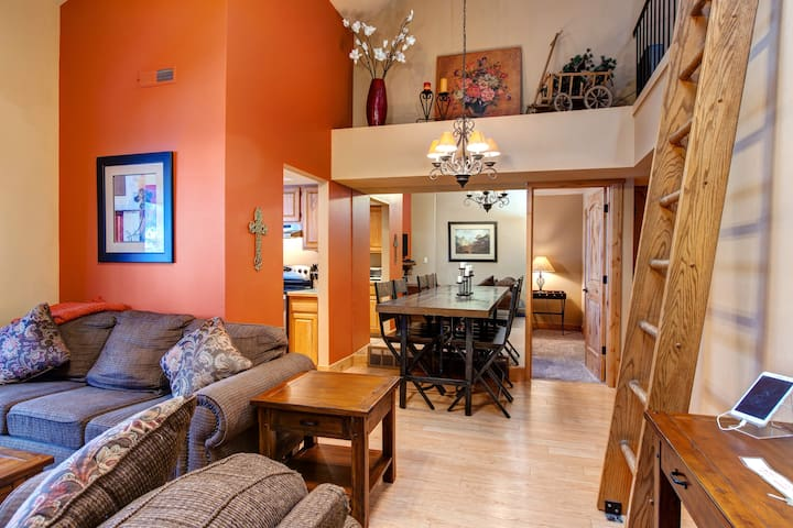 3BR Powderwood Resort Condo - Park City - Apartamento