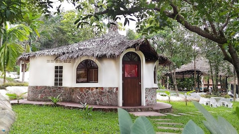 Red Dome Bungalow with Garden