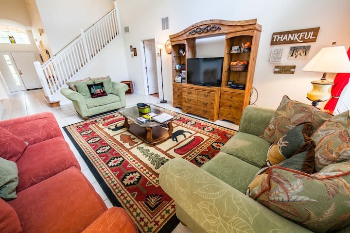 comfy family room