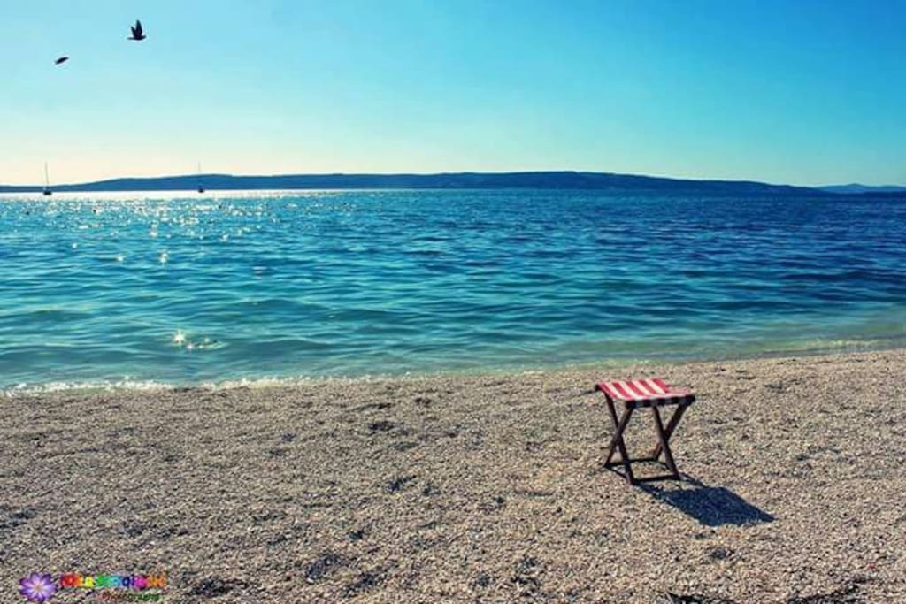 Beautiful day on the beach