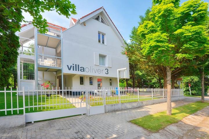 Villa Oliver3 Siófok-Studio Apartment with Balcony