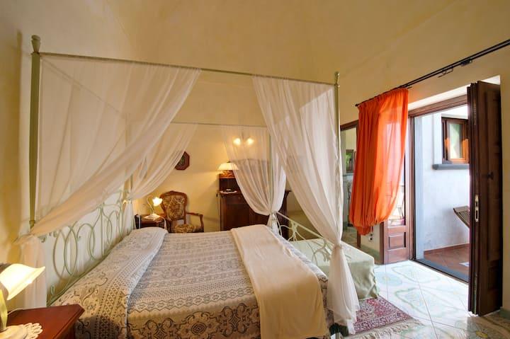 B&B ad Amalfi, suite vista mare con idromassaggio