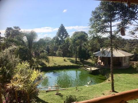 Rancho Kunzel em Campo Alegre - Serra D.Francisca
