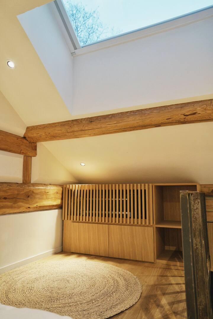 有术/4号/有玄关微花园的loft温暖房间/建筑师改造/近什刹海北海护国寺