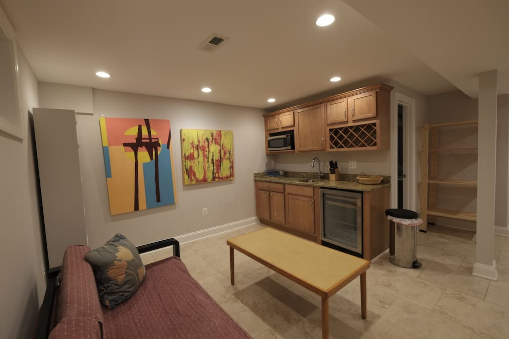 Suite living room,