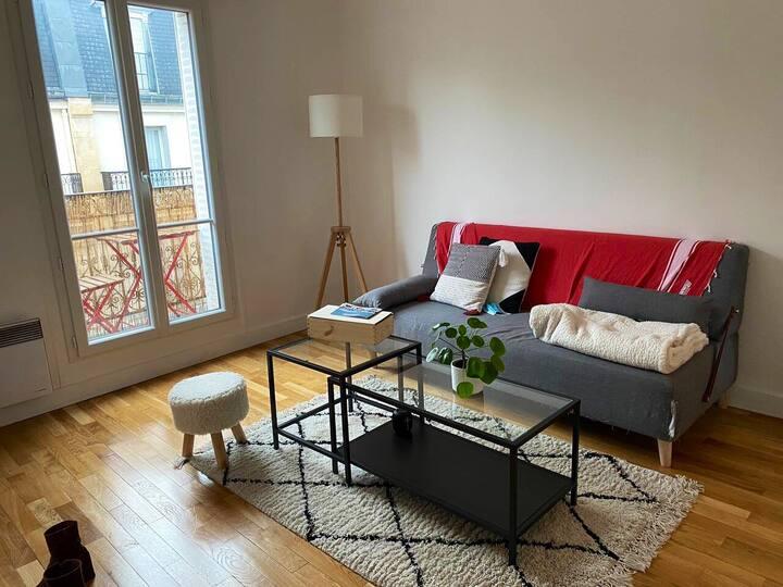 Appartement de charme 11ème Voltaire - 32m2