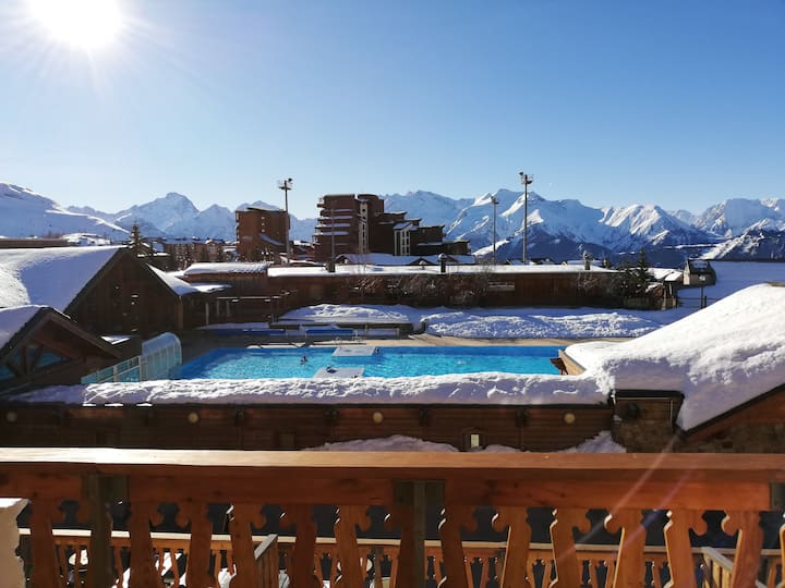 Appartement 5 personnes Alpe d'Huez La Ménandière