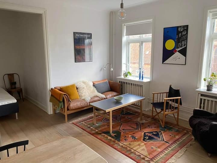 Cosy apartment in the middle of Aarhus