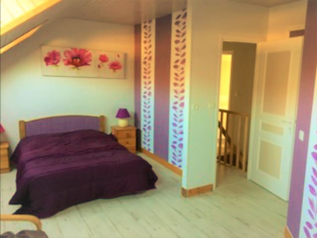 """Chambre """"F"""" - Le Rucher (3/4) - Fumay - Guesthouse"""