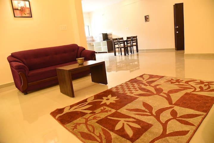 Spacious 3BHK flat at Daffodil  Apartments