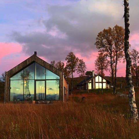 Moderne hytte på Nystølfjellet Gol - Gol