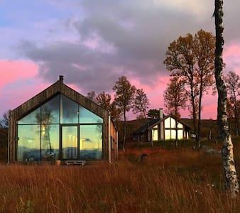 Moderne hytte på Nystølfjellet Gol - Gol - 小木屋