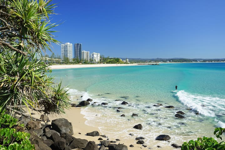 ♥ Relax Beachside in Coolangatta ♥ Best Location ♥