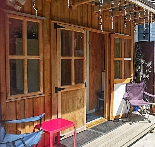 Easy city access; cozy studio,  private entrance.