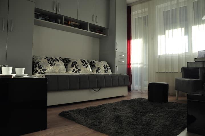 Riverside studio apartment