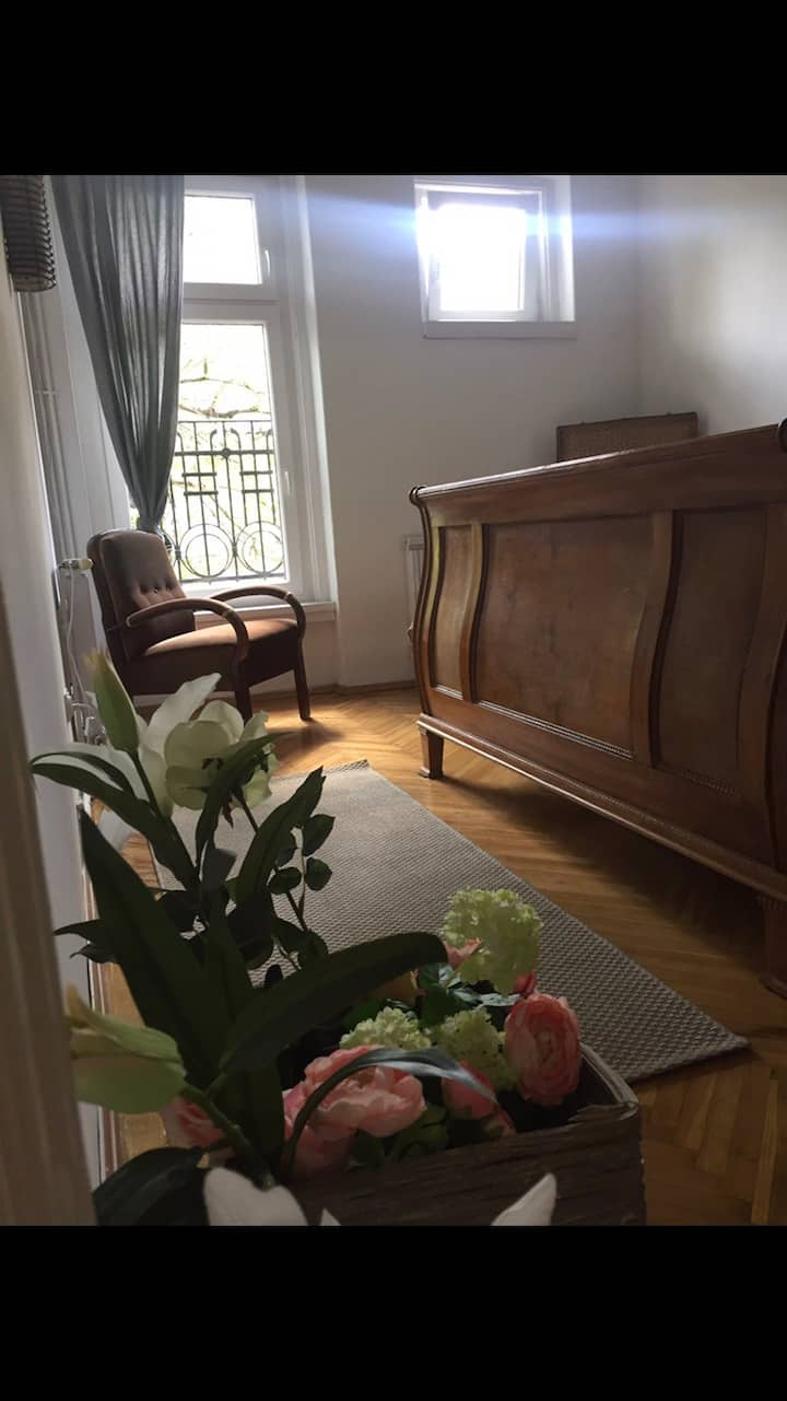 Private Room Downtown  + airport shuttle 5 euros